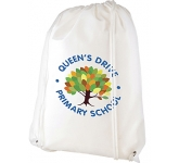 Caterham Recycled Non-Woven Drawstring Bag  by Gopromotional - we get your brand noticed!