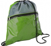 Duo Colour Mesh Drawstring Bag  by Gopromotional - we get your brand noticed!