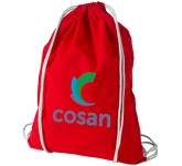 Peak Premium Cotton Drawstring Bag  by Gopromotional - we get your brand noticed!