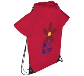Fan T-Shirt Drawstring Bag  by Gopromotional - we get your brand noticed!