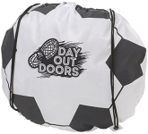 Football Drawstring Bag  by Gopromotional - we get your brand noticed!