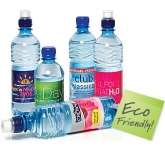 500ml Bottled Water  by Gopromotional - we get your brand noticed!