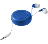 Storm Retractable Printed Earbuds