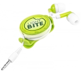 Vienna Light Up Earbuds  by Gopromotional - we get your brand noticed!