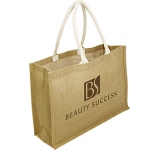 Sherborne Expo Natural Jute Bag  by Gopromotional - we get your brand noticed!
