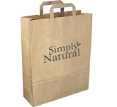 Large Recycled Paper Carrier Bag  by Gopromotional - we get your brand noticed!