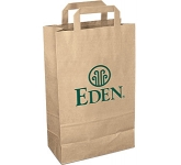 Medium Recycled Paper Carrier Bag  by Gopromotional - we get your brand noticed!