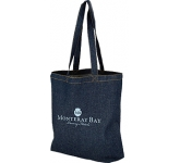 Harlow Denim Promotional Tote Bag  by Gopromotional - we get your brand noticed!