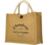 Lancaster Jute Gift Bag  by Gopromotional - we get your brand noticed!