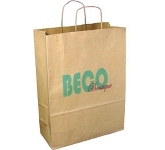 Large Boutique Twist Handled Paper Carrier Bag  by Gopromotional - we get your brand noticed!