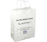 Medium Boutique Twist Handled Paper Carrier Bag