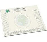 A2 Recycled Desk Pad  by Gopromotional - we get your brand noticed!