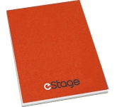 A4 Recycled Till Receipt Covered Notepad  by Gopromotional - we get your brand noticed!