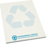 A5 Recycled Notepad  by Gopromotional - we get your brand noticed!