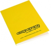 A6 Recycled Till Receipt Perfect Bound Notepad  by Gopromotional - we get your brand noticed!