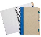 Bio Recycled Notebook & Pen