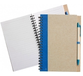 Bio Recycled Notebook & Pen  by Gopromotional - we get your brand noticed!