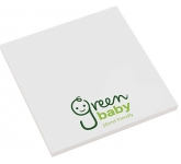 Recycled 75 x 75mm Sticky Note  by Gopromotional - we get your brand noticed!