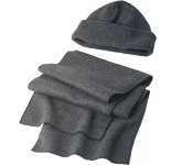 Denver Fleece Hat & Scarf Set