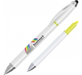 Hi-Cap Multi-Function Highlighter Pen  by Gopromotional - we get your brand noticed!
