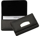 Boston Leather Business Card Holder  by Gopromotional - we get your brand noticed!