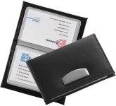 Chicago Leather Business Card Wallet  by Gopromotional - we get your brand noticed!