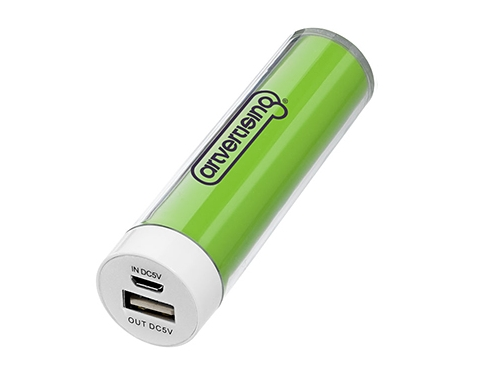 Cylinder Power Bank - 2200mAh
