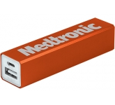 Velocity Aluminium Power Bank - 2200mAh  by Gopromotional - we get your brand noticed!