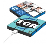 Rubiks Flat Profile Power Bank - 4000mAh  by Gopromotional - we get your brand noticed!