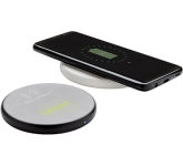 Discus 10W Fast Wireless Charging Pad  by Gopromotional - we get your brand noticed!