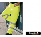 Regatta Hi-Vis Breathable Shell Overtrousers