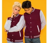 AWDis Varsity Jacket  by Gopromotional - we get your brand noticed!