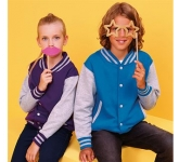 AWDis Kids Varsity Jacket  by Gopromotional - we get your brand noticed!