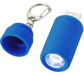 Mini LED Torch USB Charger  by Gopromotional - we get your brand noticed!