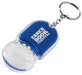 Zoom Magnifying LED Keychain Light  by Gopromotional - we get your brand noticed!