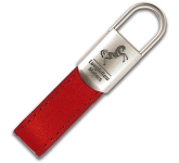 Monaco Leather Keyring