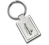 Rectangular Geneva Metal Keyring  by Gopromotional - we get your brand noticed!