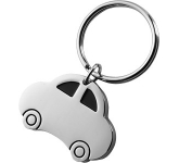Car Shaped Metal Keyring