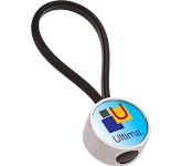 Ultima Round Metal Keyring  by Gopromotional - we get your brand noticed!