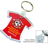 Deluxe Smart Fob Sports Kit Plastic Printed Keyring  by Gopromotional - we get your brand noticed!