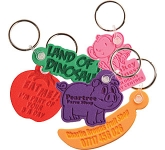Embossed Foam Keyring  by Gopromotional - we get your brand noticed!