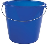 10 Litre Premium Plastic Bucket  by Gopromotional - we get your brand noticed!