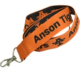 20mm Embroidered Executive Woven Fabric Lanyard  by Gopromotional - we get your brand noticed!
