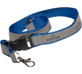 20mm Reflective Polyester Lanyard  by Gopromotional - we get your brand noticed!