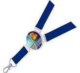 Exhibition 20mm Elliptical Lanyard  by Gopromotional - we get your brand noticed!