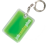 Rectangle Shaped Liquid Keyring