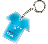 T-Shirt Shaped Liquid Keyring  by Gopromotional - we get your brand noticed!