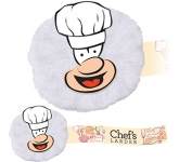 Chef Mophead Card Face Logo Bug