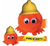 Firefighter Hatted Logo Bug  by Gopromotional - we get your brand noticed!