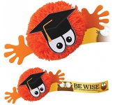 Graduate Mophead Character Logo Bug